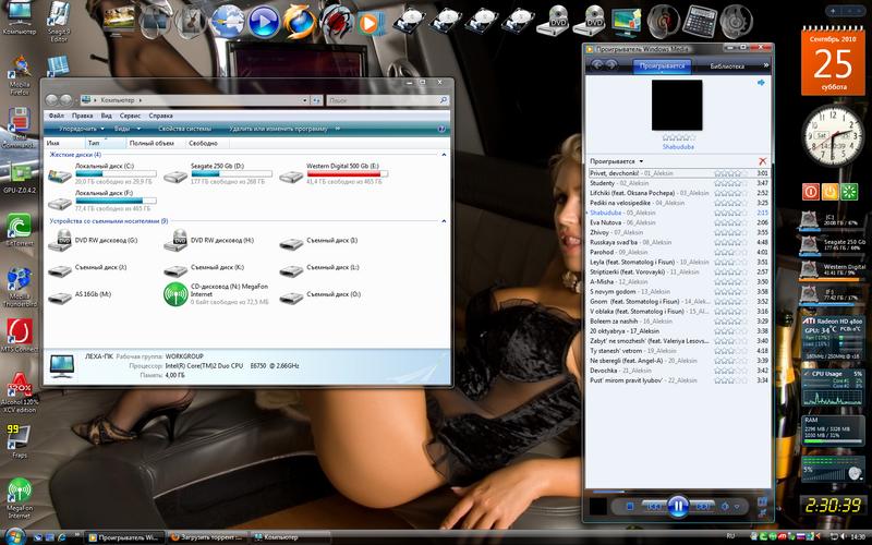 Версия Vista Ultimate, облегчённая, быстрая, неприхотливая к ресурсам ОС